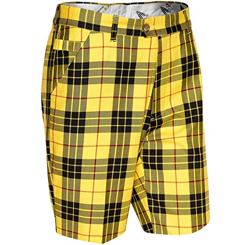 Royal & Awesome Herren Golf Shorts - Loud MacLeod