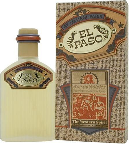 El Paso By Lomani For Men. Eau De Toilette Spray 3.4 Ounces