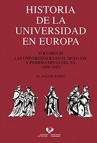 Historia de la Universidad en Europa. Volumen 3. Las universidades en el siglo X