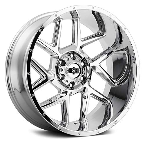 Vision 360 Sliver 20x10 6x5.5' -29mm Chrome Wheel Rim 20' Inch