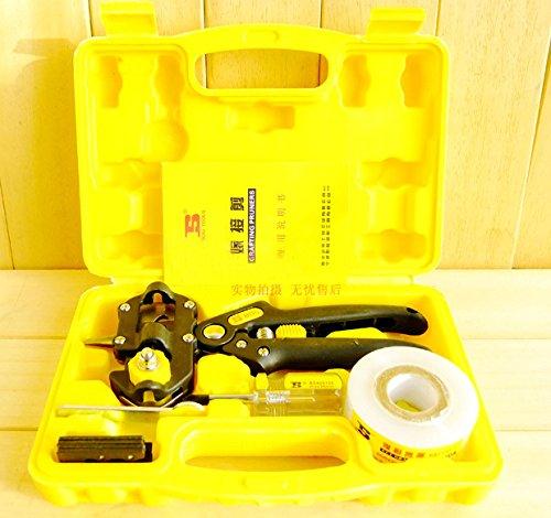 Bosi Greffe Sécateur outils de jardin Ensemble de lame V & U & concave Fruits Greffe
