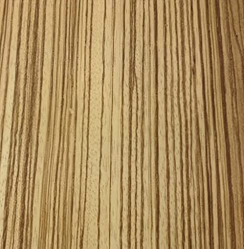 Aibote Naturliga zebra träfanér restaureringsark (total storlek: 15 x 250 cm) träklistermärke gör-det-själv-material för högtalare monter skåp bordshyllor köksmöbler (klippning)