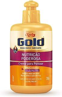 Gold Creme para Pentear Nutrição Poderosa, 280G, Niely