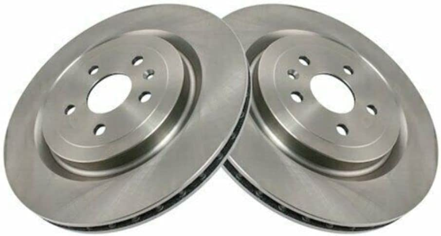 BreaAP Rear Brake Rotor Set Compatible Elegant V Ca CTS 10-15 Don't miss the campaign 09-16 with