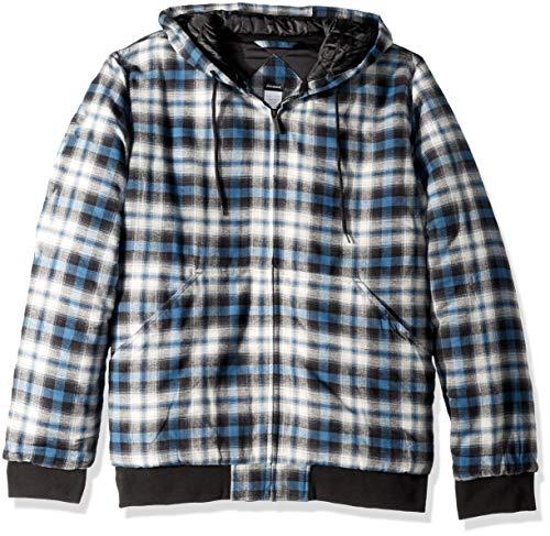 Mens Varsity Bomber Jacket Diamond Quilted Flight Lightweight Windbreaker Softshell Fall Winter Outwear
