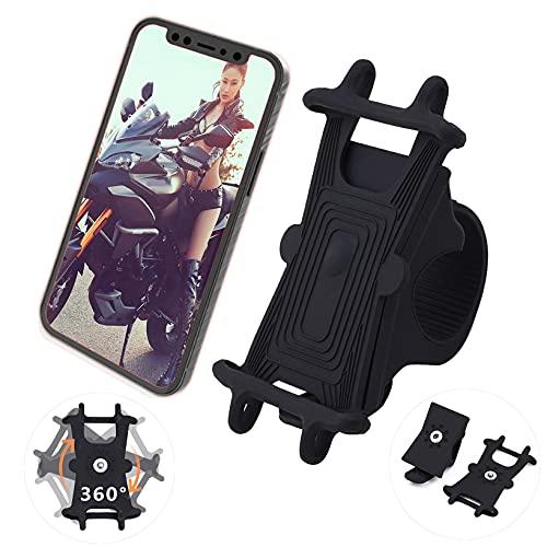 Soporte para teléfono para bicicleta de silicona