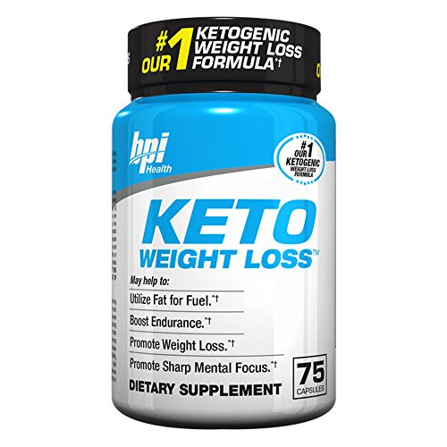 Keto Weight Loss Is A Ketogenic Fat Burner - Formulated for the Keto Diet To Burn Fat, Maintain Ketosis, Enhance Mental Focus & Clarity – BHB's, MCT and More – 75 Easy to Swallow Capsules 1