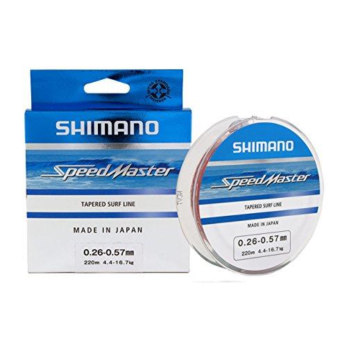 SHIMANO SPEEDMASTER TAPERED SURF LINE 0,26-0,57mm