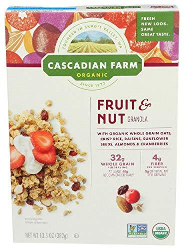 Cascadian Farm Organic Fruit and Nut Granola, 13.5 oz