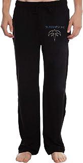 Queensryche Logo Men's Sweatpants Lightweight Jog Sports Casual Trousers Running Training Pants