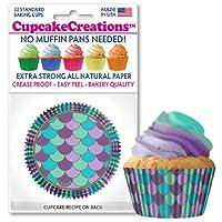 Cupcake Creations カップケーキベーキングペーパー 32枚