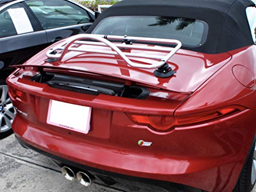 Jaguar F Type Convertible Roadster Luggage Rack Unique Design : Revo-Rack PA