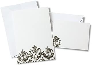 diy damask wedding invitations