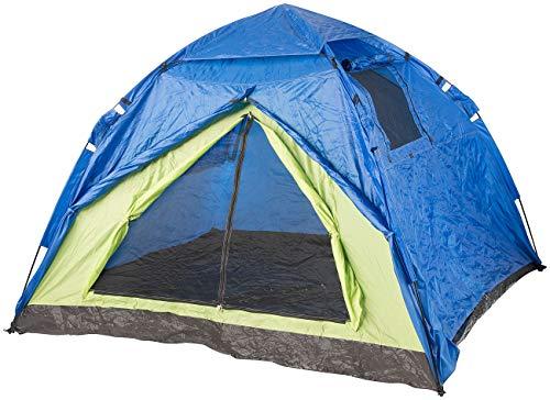 Semptec Urban Survival Technology Automatik Zelt: Automatik-Kuppelzelt für 4 Personen, 5.000 mm Wassersäule (Zelt Schnellaufbau Automatik)
