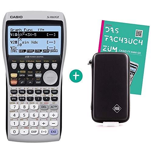 Casio FX 9860 GII + Safecase Schutztasche + Fachbuch