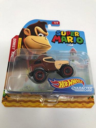 Hot Wheels - Super Mario Character Cars - Donkey Kong