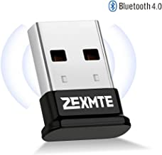 Bluetooth Adapter for PC Bluetooth 4.0 USB Wireless Dongle Compatible with PC Desktop Computer with Windows 10 8.1 8 7 Vista XP, Low Energy Micro Adapter