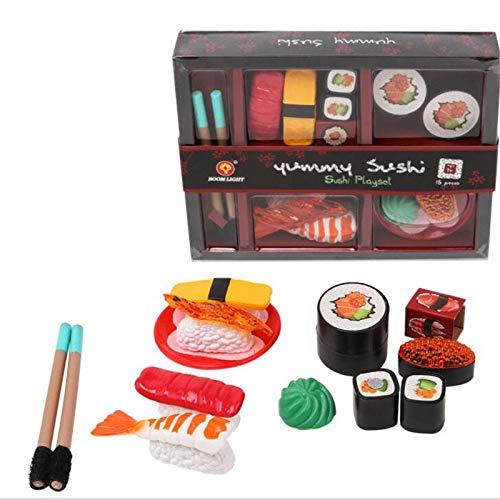 Bambini Sushi Camera del gioco Toy Set finge il giocattolo Cucina finge i giocattoli del pranzo pranzo Janpa Sushi alimentari Giocattoli Box Set