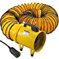 BestEquip Utility Blower Fan Two Speed Portable Ventilator 110V High Velocity Utility Blower