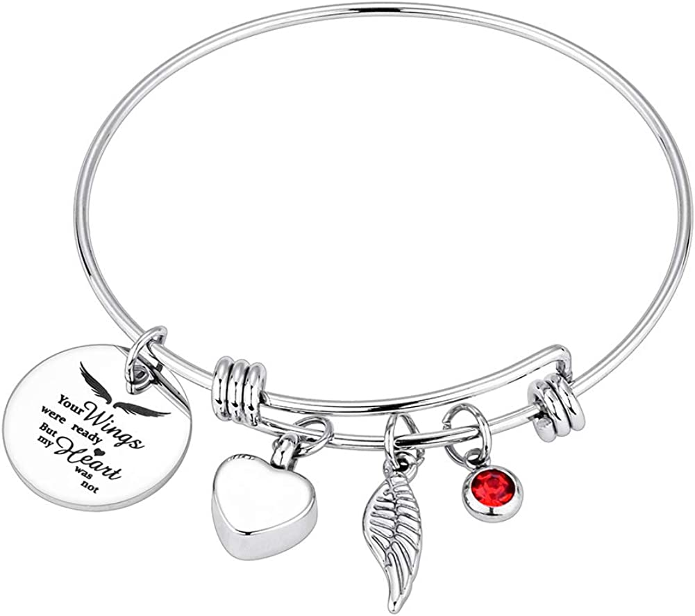 Dletay Cremation Bracelet for Ashes 67% OFF of fixed price Urn Fees free!! Stainless Steel