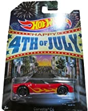 Hot Wheels - Happy 4th of July 2013 - 4/6 - Corvette C6 by Mattel