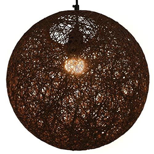 Hanglamp Bruin Bol 35 cm E27