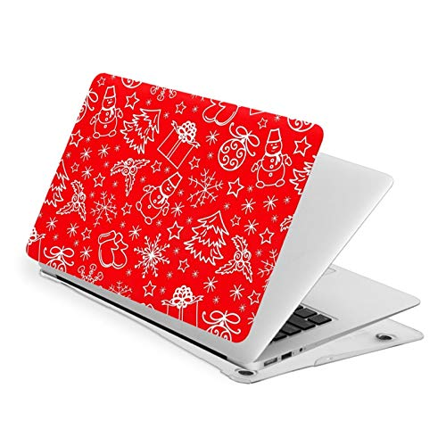 MacBook Air 13 Inch Case Christmas Red Fit A1369 A1466 Laptop Slim Hard Shell Plastic Protective Cover