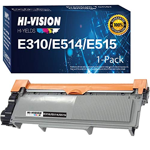 HI-Vision 1 Pack Compatible PVTHG 593-BBKD Toner Cartridge Replacement for Dell E310dw E514dw E515dw E515dn