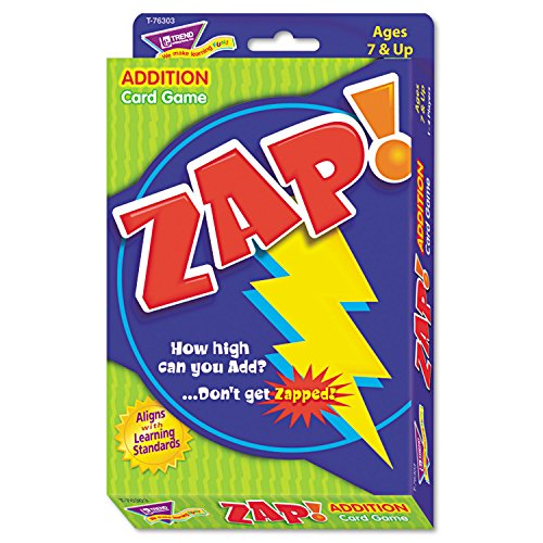 TEPT76303 - Trend Zap Math Card Game by Trend