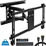 Everstone Heavy Duty TV Wall Mount for Most 32-70 Inch with Articulating Arm Full Motion Tilt Swivel Bracket 16'