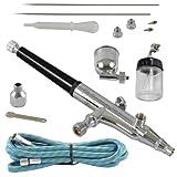 Agora-Tec® AT- Airbrush Pistole Kit AT-AK-02