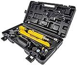 JEGS 81533 Hydraulic Porta-Power Ram Jack Kit 10-Ton Capacity