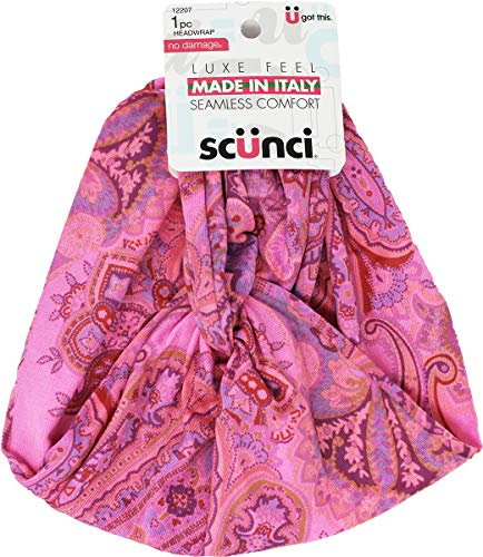 Scunci Made in Italy Luxe Feel Seamless Comfort No Damage Headwrap, 1 CT