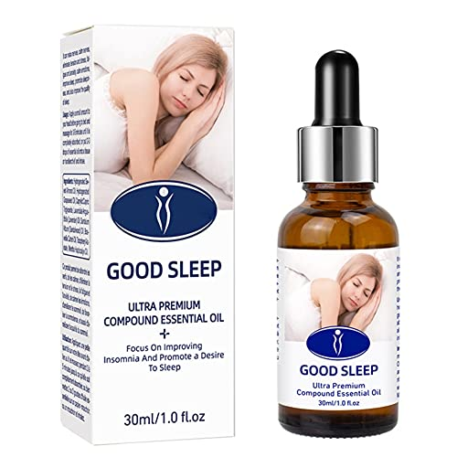 Ätherisches Schlaföl 30ml Lavendel Ätherische Ölmischung Aromatisches Ätherisches Öl, Dekompressions-Entspannungsgeschenk für Frauen - Ruhiger Schlaf, Dekompressions-Aromatherapie-Öl