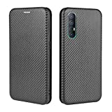 HAOTIAN Case for OPPO Find X2 Neo Flip Wallet Cover with