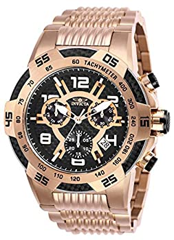 Invicta Men s Speedway Swiss Quartz Watch with Stainless Steel Strap Rose Gold 30  Model  25287