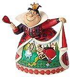 Objet décoratif à poser personnage disney - sculpture imitation bois revisitée par l'artiste jim shore résine article emballé dans un joli coffret avec étiquette de provenance