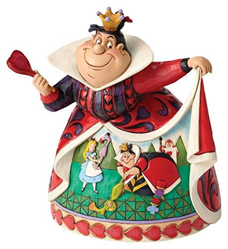Disney Traditions–Figura Decorativa de la Reina de Corazones