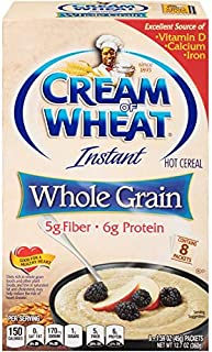 Cream of Wheat, Instant Cereal, Healthy Whole Grain, Original, 12.7oz Box (Pack of 3)