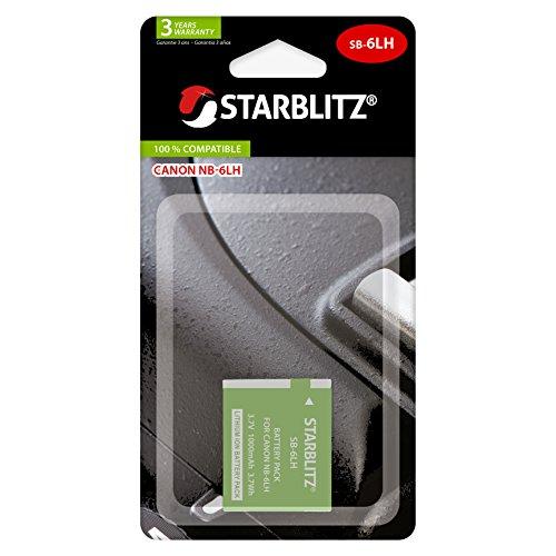 Starblitz SB-6LH - Batería Compatible con Canon NB-6LH