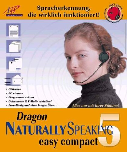 Dragon Naturally Speaking 5 easy compact