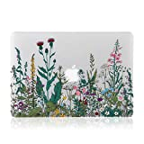 iDonzon Case for MacBook Pro 15 inch (A1398, 2012-2015 Release), 3D Effect Matte Clear See Through Hard Cover Compatible Mac Pro 15.4 inch with Retina Display (NO CD-ROM Drive) - Garden Flowers