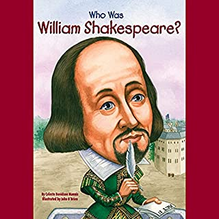 Who Was William Shakespeare? cover art