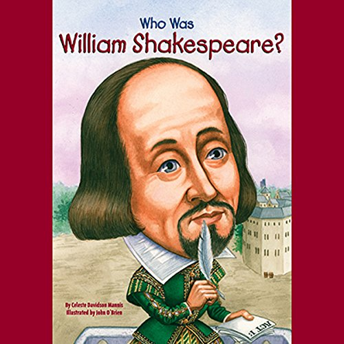 Who Was William Shakespeare? audiobook cover art