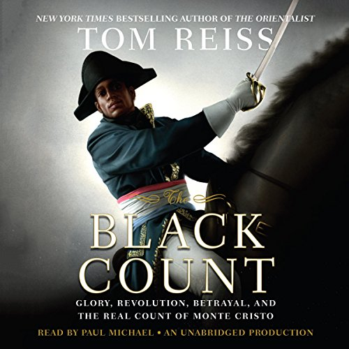 The Black Count audiobook cover art