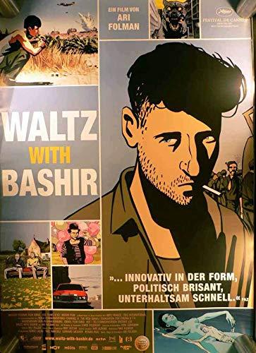 Waltz With Bashir - Filmposter A1 84x60cm gerollt (1)