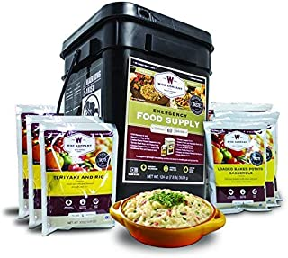 Image of Wise Company Emergency Food Supply, Entree Variety, 25-Year Shelf Life, 60 Servings