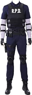 Resident Evil 2 Leon Remake Cosplay Costume