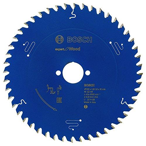 Bosch Professional Kreissägeblatt Expert für Wood (Holz, 200 x 30 x 2,8 mm, 48 Zähne, Zubehör Kreissäge)