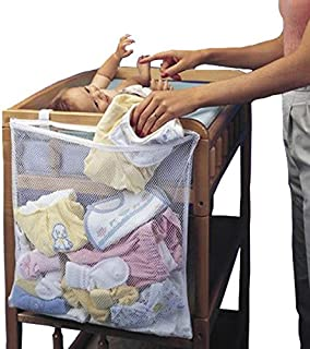 Calli Infant Baby Dirty Clothes Diapers Hanging Storage Bag Organizer Holder For Cribs Bed